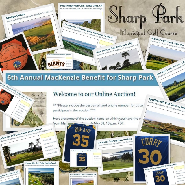 Sharp Park Benefit On-line Auction
