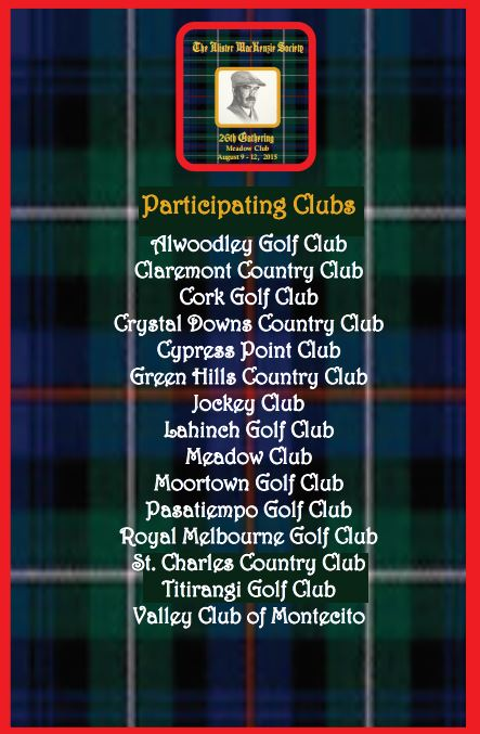 MacKenzie Society Participating Clubs