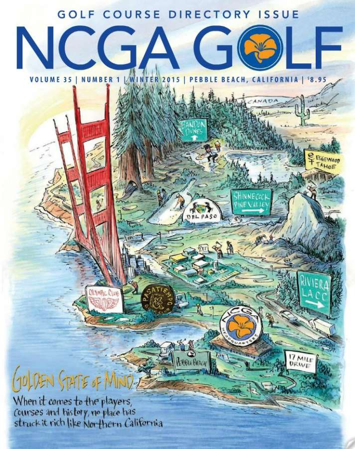 NCGA Magazine Cover 2015 Winter Edition