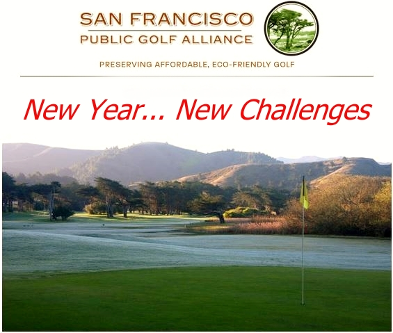 San Francisco Public Golf Alliance - New Year