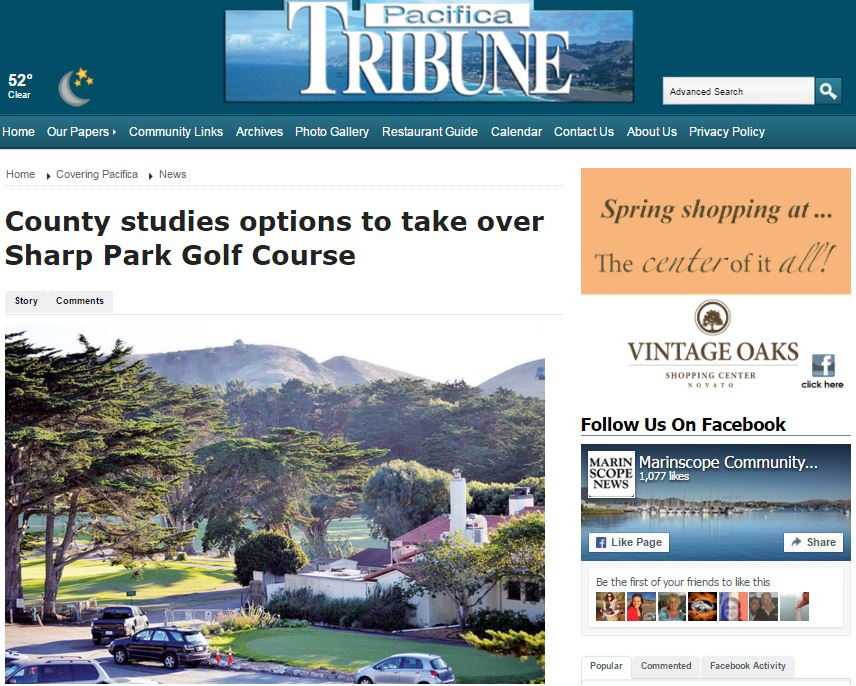 Pacifica Tribune article