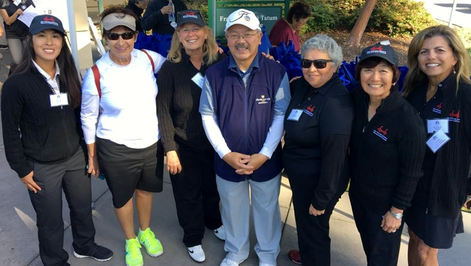 Mayor Ed Lee and Women's Golf in SF