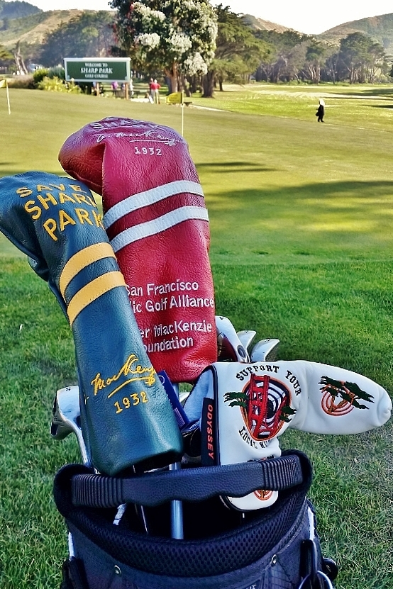 Save Sharp Park Head Covers in action