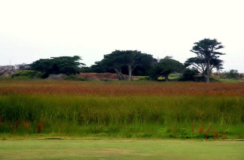 Laguna Salada from the 14th Fairway